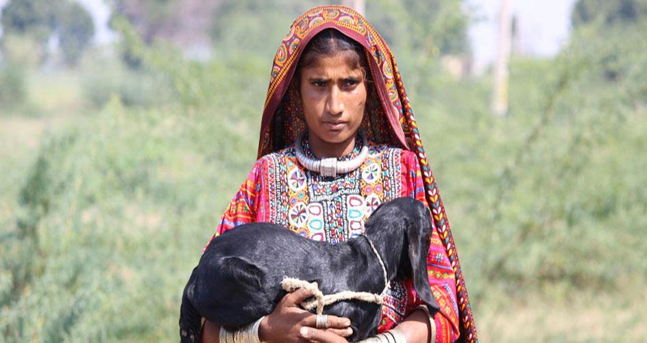 Fakirani Jat Tribal Girl Gujarat