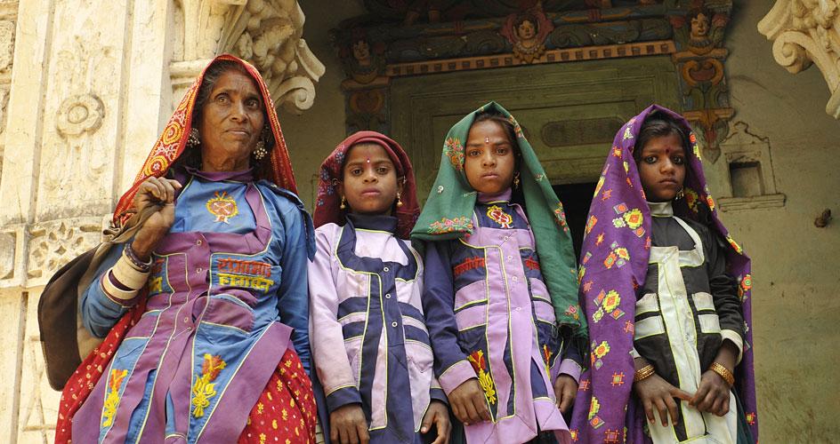 Garacia Tribe in Tribal tour of Gujarat