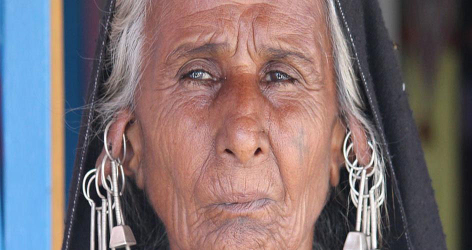 Kutchi Rabari lady Gujarat