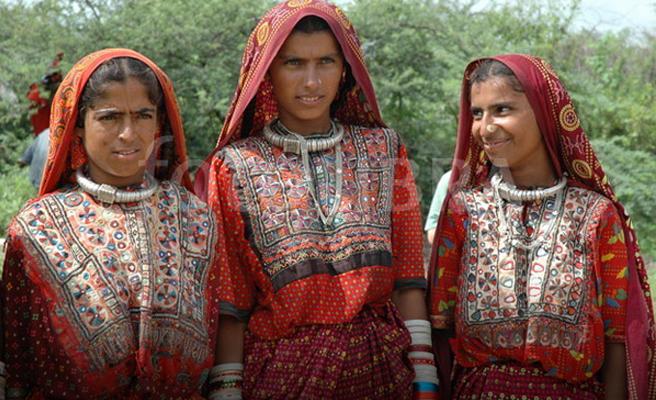 Ahir Ladies in their traditional costumes