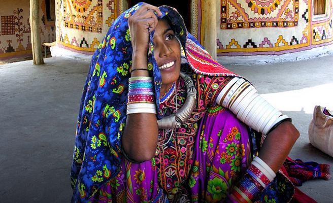 Bharwad Lady