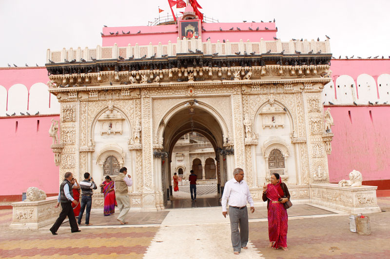 Image result for Front view of karni mata temple