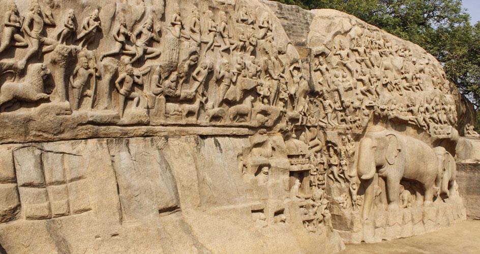 Cave Temple Mahabalipuram