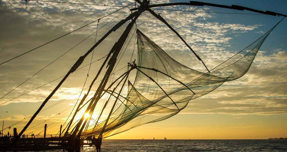 Chinese fishing nets Cochin