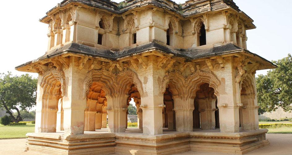 Palace in Hampi