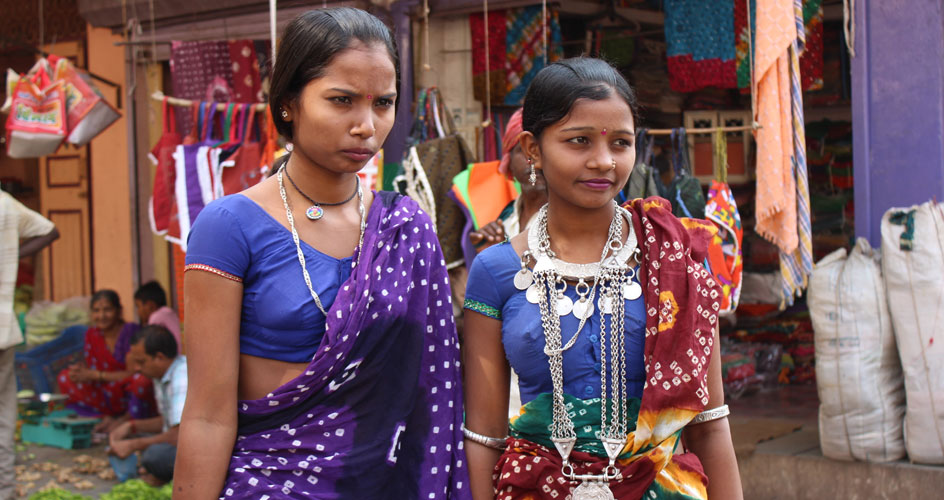 Rathwa Gujarati Tribal Girls