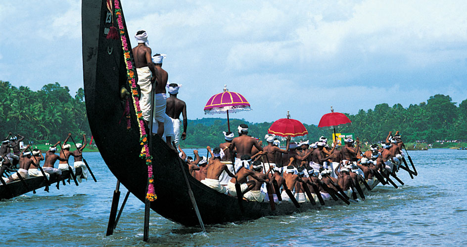 Snake Boats for Boat Race