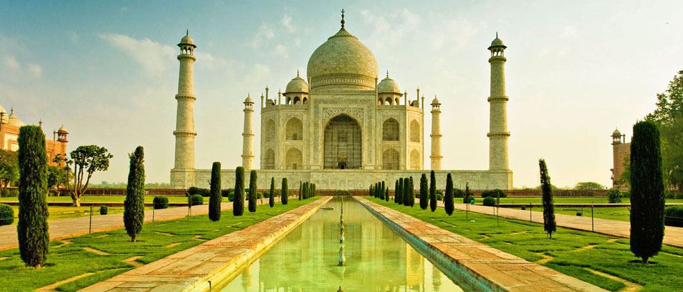 Taj Mahal Agra One of the Seven Wonders of World