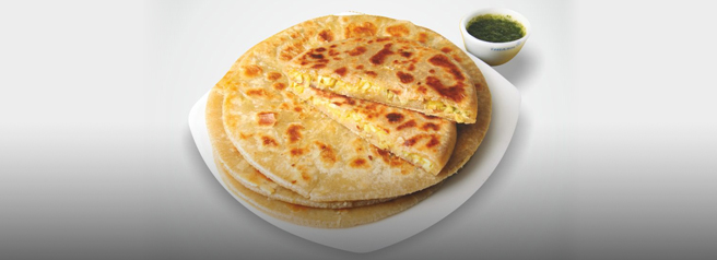Paranthas from Paranthe wali Gali
