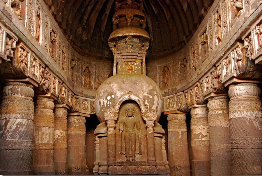 Ajanta Caves Chaitya
