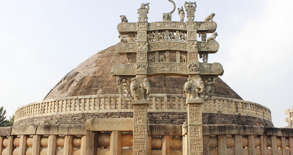 Great Stupa of Sanchi the buddhist complex