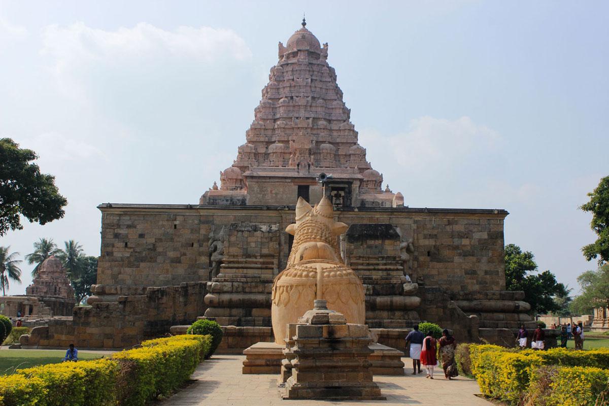 GangaikondaCholapuram, Thanjavur
