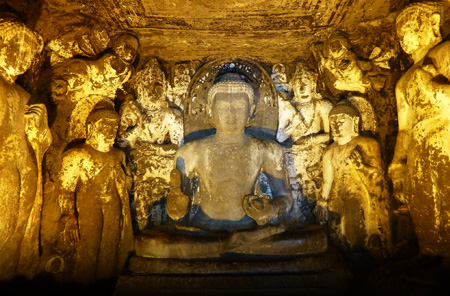 Ajanta Caves, Near Aurangabad