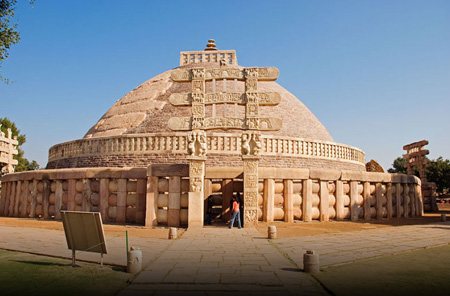 Buddhist Monuments in Sanchi