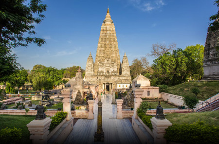 Mahabodhi Temple Complex at Bodh Gaya