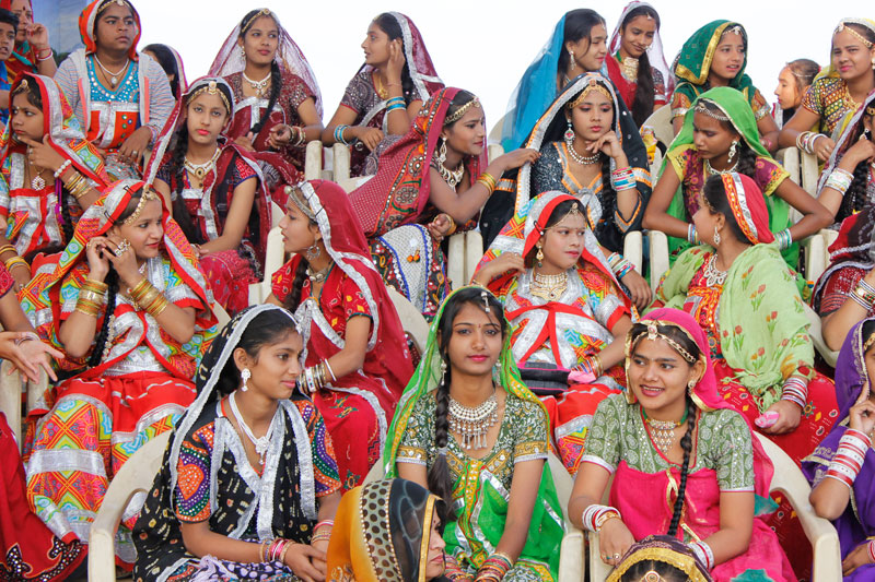 Indian Girls In Different Dresses