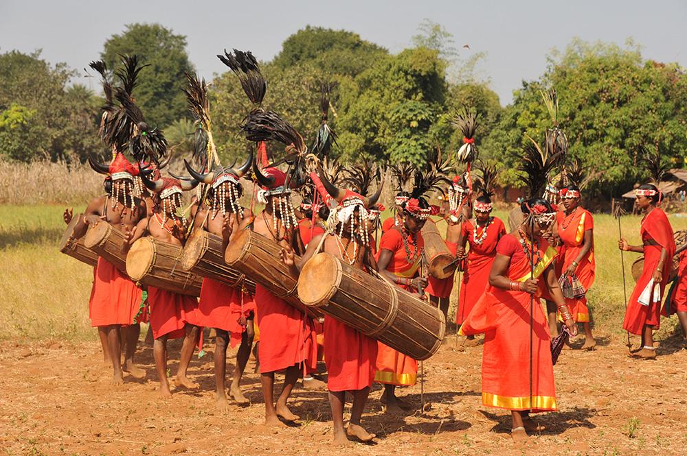 Bison Horn Maria Dance