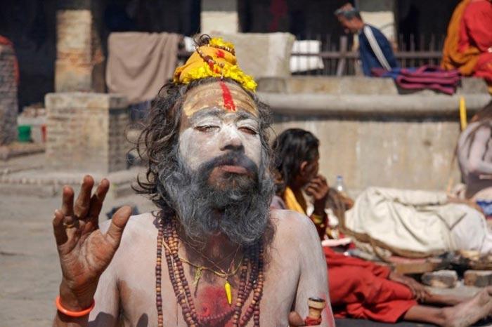 Sadhu at Joranda Temple