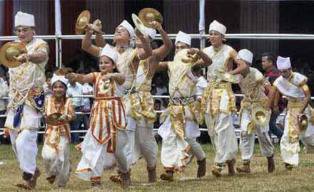 Bhortal Dance Assam