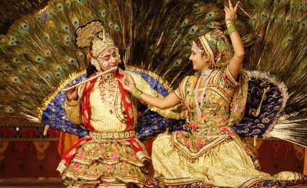 Old punjabi folk dance