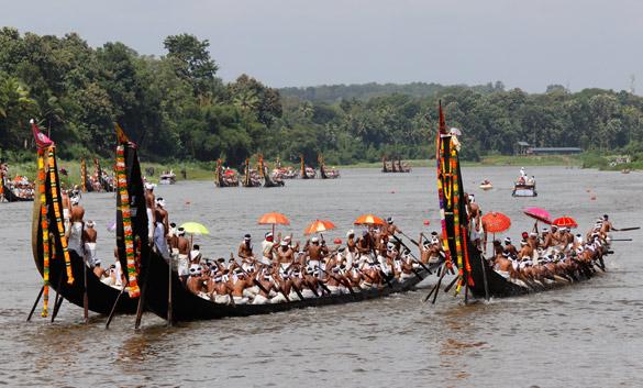 Snake Boats Kerala