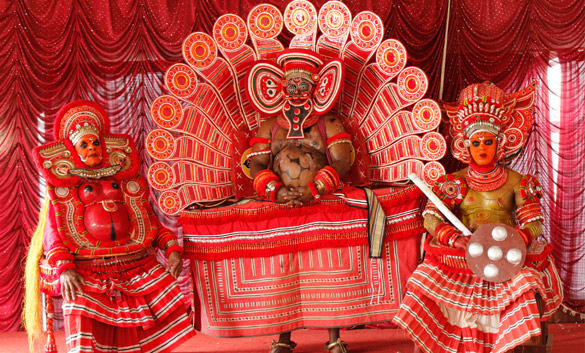 Theyyam Dancers