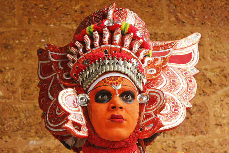 Theyyam Dancer