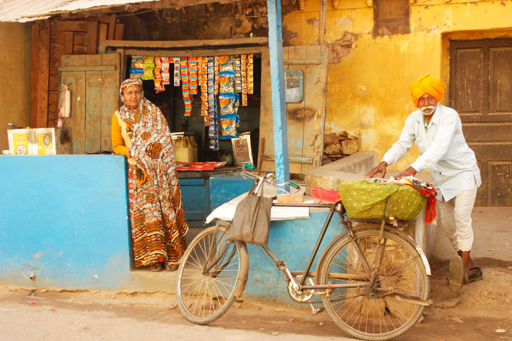 Village Market Shop in Bundi Rajasthan