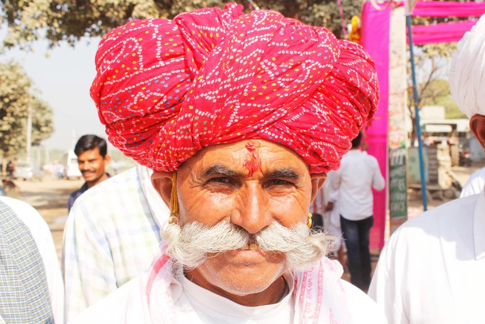 rajasthan moustache