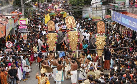 Grand Onam Festival In Kerala