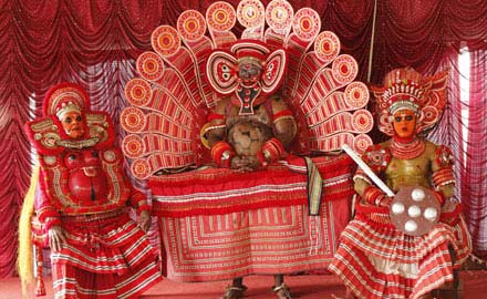 Theyyam Dancer in Kerala
