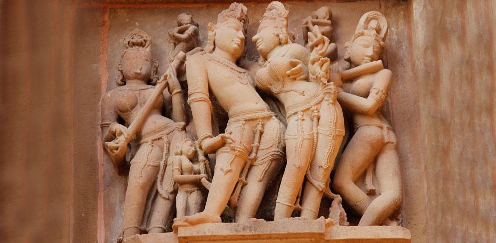 Khajuraho figures