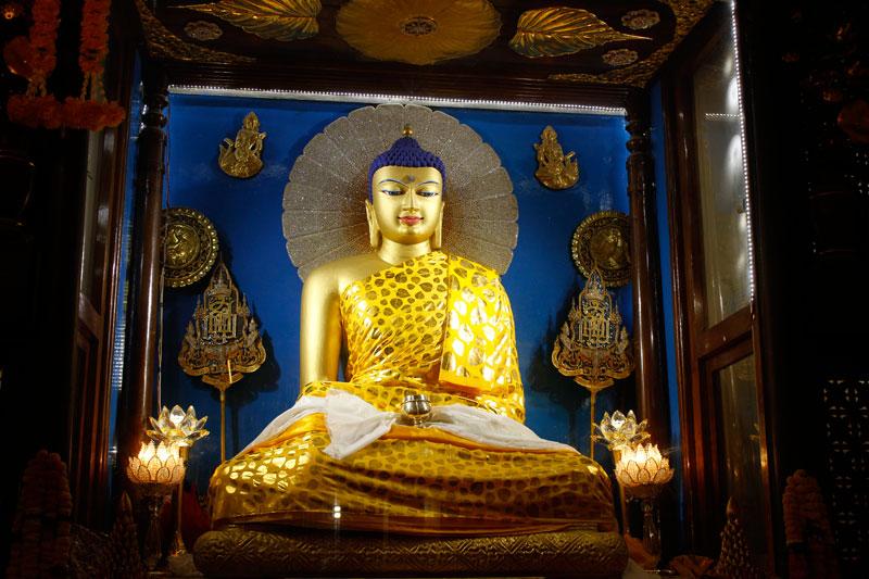 Lord Buddha Bodhgaya